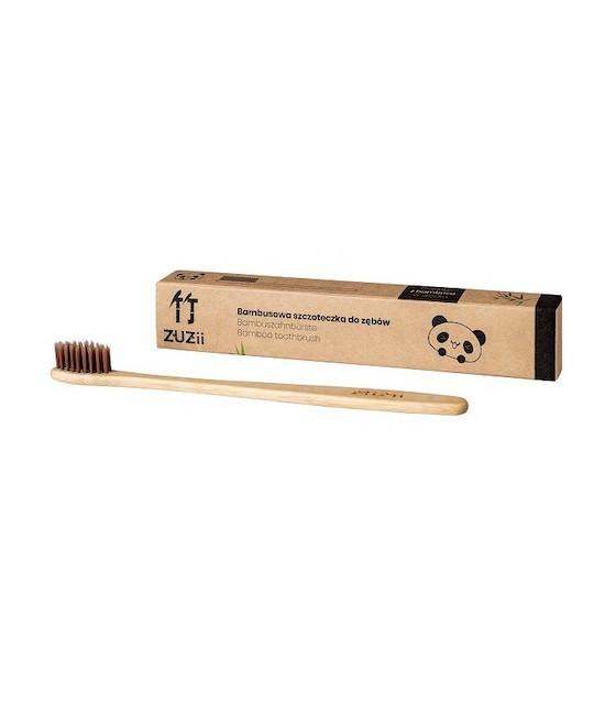 szczoteczka do mycia zębów z bambusa
