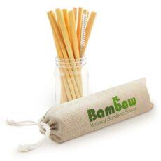 słomki z bambusa